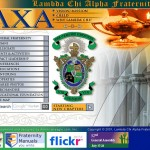 Lambda Chi Alpha website circa 2007
