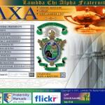 Lambda Chi Alpha website circa 2007