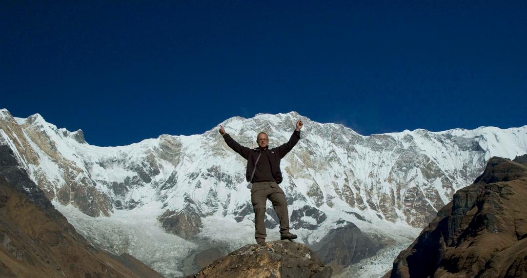 Matthew Nelson in Nepal