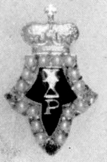 Chi Delta Rho Badge
