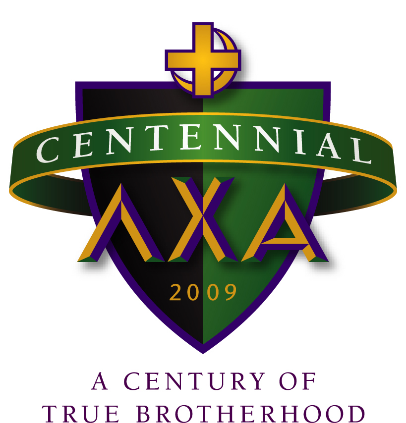 Lambda Chi Alpha centennial logo