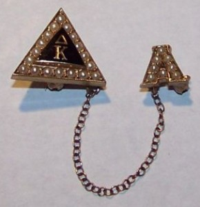 Delta Kappa badge